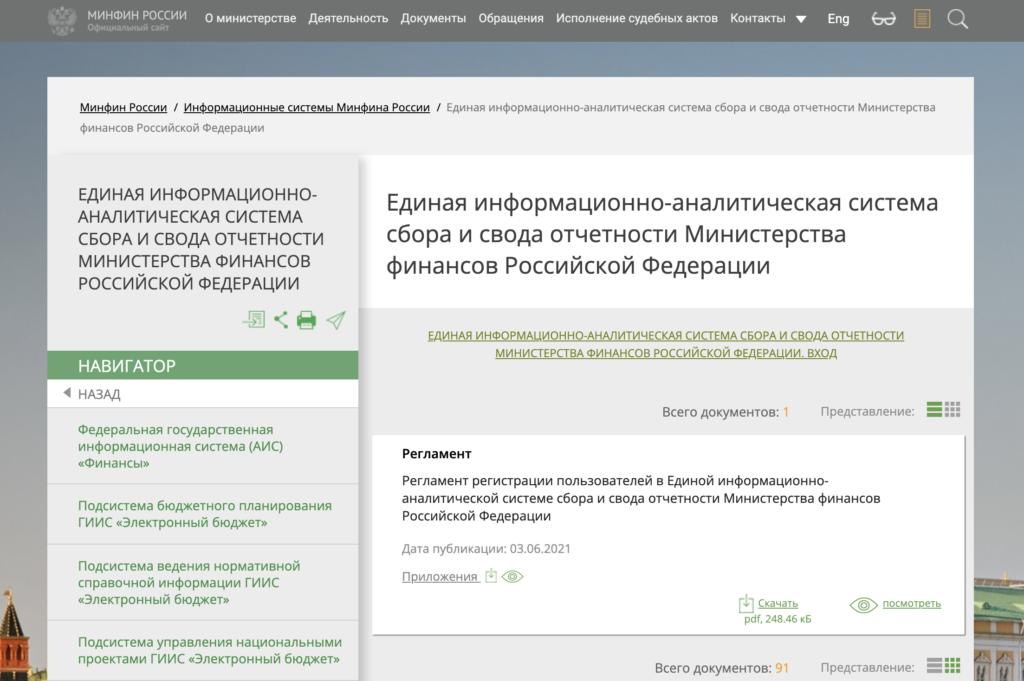 код территории как узнать по инн на сайте минфин россии